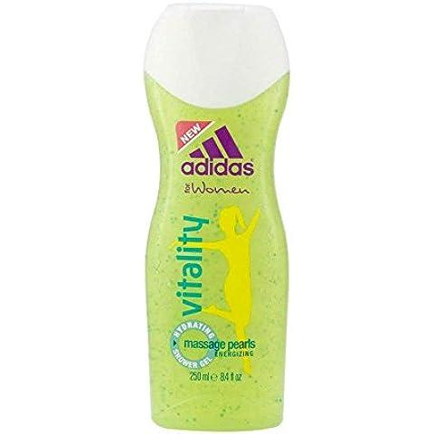 3 x Adidas Doccia gel vitalità per la donna /