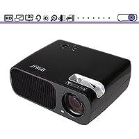 iRULU Multimedia 2600 Lumens Mini LED Proiettore Portabile con VGA