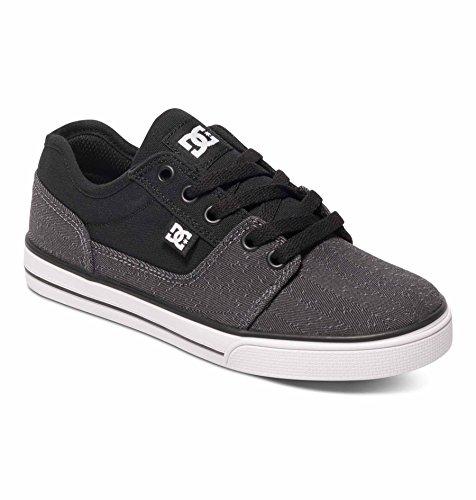 DC - - Mädchen Tonik Tx Se Lowtop Schuhe, EUR: 28, Grey/Black/White (Mädchen Schuhe Dc)