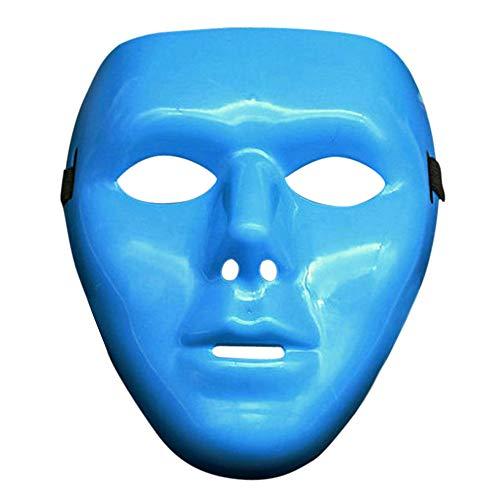 JUSTSELL ▾ Maske - Hip Hop Maske Leuchtend Unisex Anti Staub Wind Gesicht Maske Halloween Ghost Dance Auftritte Masken Partei Kleid Maske Weiß Maske Kostüm Kostümzubehör Halloween Party
