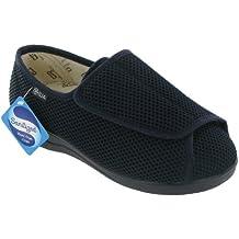 Mirak Textile Lined Mens Shoes - Navy - Size 6 7 8 9 10 11 12