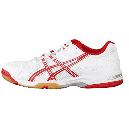 Asics Ladies Volley Gel-rocket 6 Bianco / Rosso / Argento