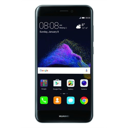 Huawei P8 Lite 2017 Smartphone, 5,2 Inch Full HD, 3GB RAM, 16 GB Memory, 12 MP Camera, Tim Logo, Android 7.0, Black