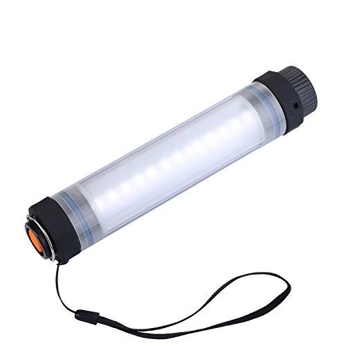 Preisvergleich Produktbild Sky Castle LED-kampierende Lampe Notfall-Nachtlampe, Beweglicher Wasserdichter Magnetischer LED-heller Stock, 7 Modus-Helligkeit Dimmable Mit Rechargable Batterie für im Freien Kampierendes Wandern des Fischens (2600mAH)