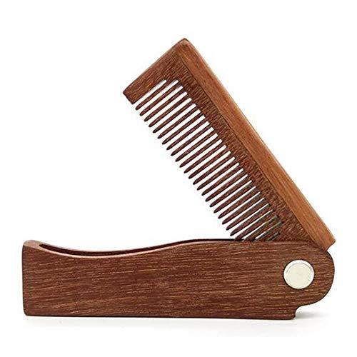 Haushalt Faltbarer Haarkamm Tragbare Holzkamm Massage Haarbürste Haarbürste Stil Für Lange Dicke, Lockige, Wellenförmige Trockene Und Beschädigte Haare (Elektrisches Glas-kopfhaut-massagegerät)