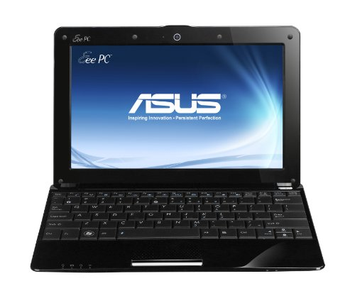 Asus R105D 25,7 cm (10,1 Zoll) Netbook (Intel Atom N455, 1,6GHz, 1GB RAM, 250GB HDD, Intel 3150, Win7 Starter) schwarz - 1 Gb Asus Notebook