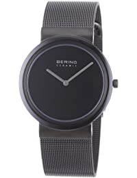 Bering Time Herren-Armbanduhr Slim Ceramic Analog Quarz 10736-222