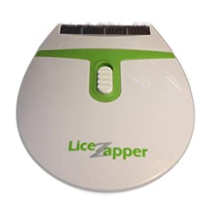 Lice Zapper electronic electric head lice nit comb- detects and kills headlice