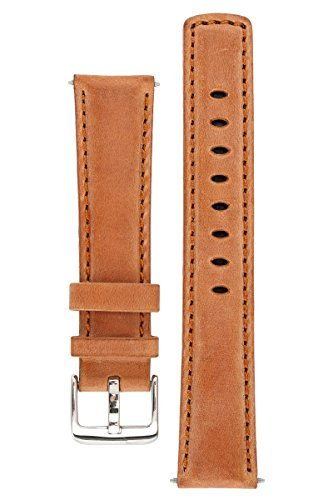 signature-traveller-24-mm-wood-extra-long-watch-band-replacement-watch-strap-genuine-leather-silver-