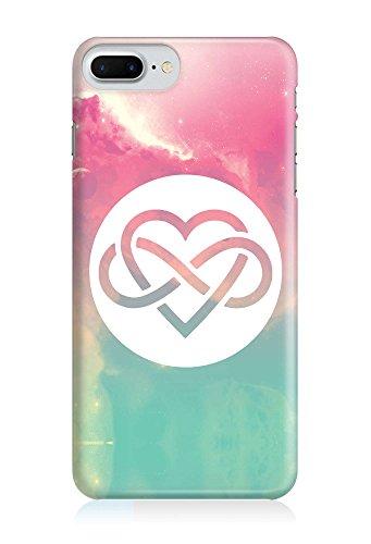 COVER Grafik Unendlich Liebe pastell Design Handy Hülle Case 3D-Druck Top-Qualität kratzfest Apple iPhone 8 Plus
