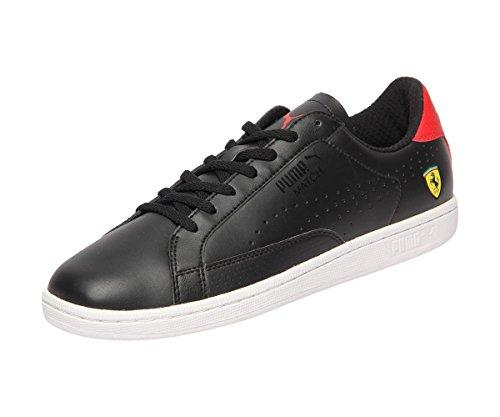 Puma, Sneaker uomo nero puma black/rosso corsa/white Black