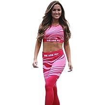 Pantalones Yoga Mujeres, ❤️Xinantime Leggings Leggins de Colores Estampados Push up Pantalones Elásticos Deportivos para Mujer