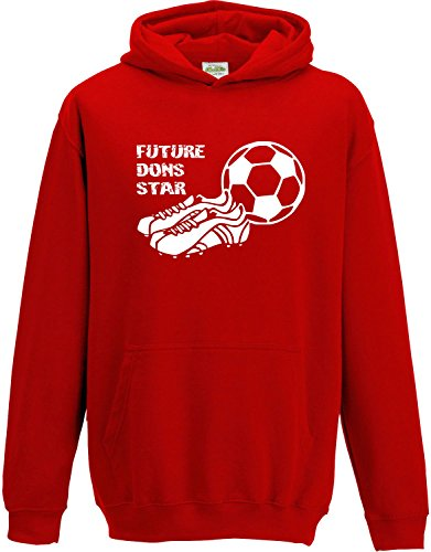 Hat-Trick Designs Leicester City Football Baby//Kids//Childrens Hoodie Sweatshirt-Royal Blue-Born /& Bred-Unisex Gift