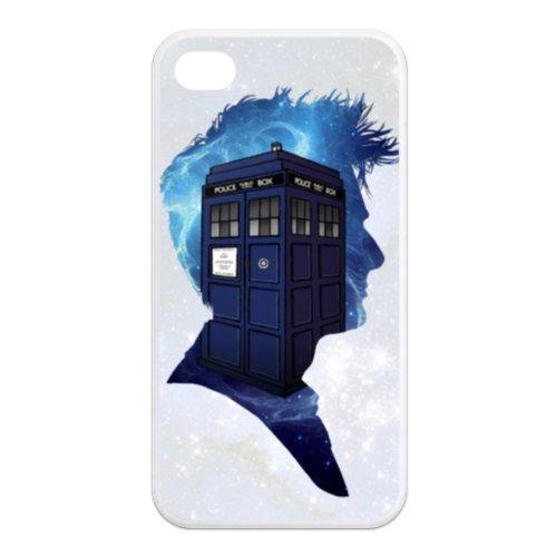 fayruz- 5S Cas, Doctor Who Coque en TPU en caoutchouc pour Apple iPhone 5/5S Coque rigide b-i5W166