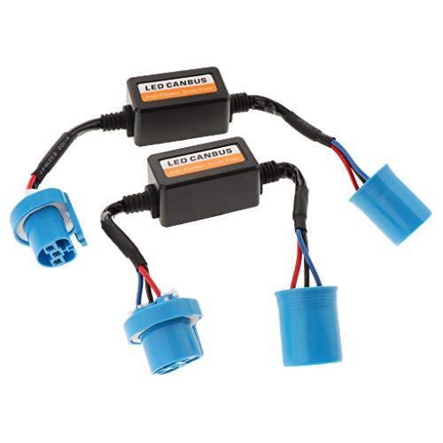 Homyl 2 Pcs Décodeur de Résistance de Phare à LED Kit Caché Canbus