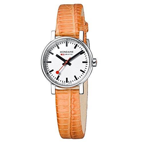 Mondaine Evo Petite a658.30301.11sbg montre-bracelet pour femmes Look Gare