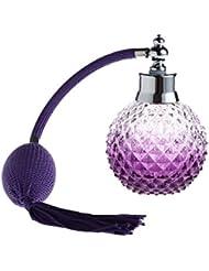 PIXNOR 100ml parfum vide remplacement Spray flacon atomiseur (violet)