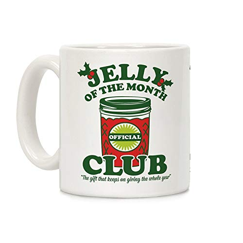 BHWYK Jelly of The Month Club White 11 Ounce Ceramic Coffee Mug -