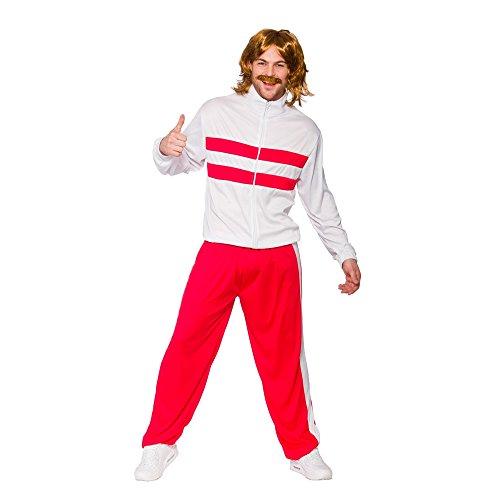 Retro Kostüme (Kostüm Retro Trainingsanzug)