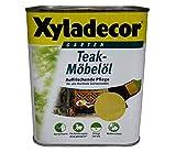 Xyladecor TeakMöbelöl farblos 0,75 Liter