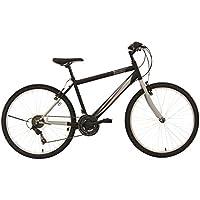 """F.lli Schiano Mountain Bike Thunder Bicicletta, da Uomo, Nero/Grigio Opaco, 26"""""""