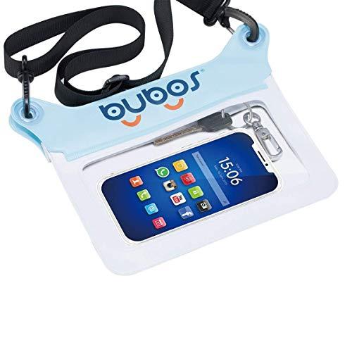 BUBOS Custodia per Tablet Impermeabile con Tracolla, Compatibile con Tutti i Modelli di iPhone, iPad Mini/iPad MNI Retina/iPad/iPad Aria/Kindle/Kindle Paperwhite/Kindle Fire (6inch)
