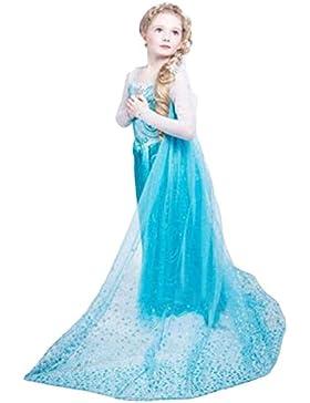 Traje de Carnaval vestido congelado vestido de niña Bimba childen Azul 8120
