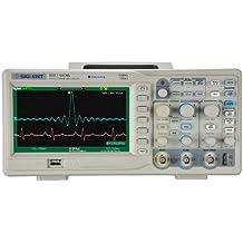 "Siglent SDS 1102CML - Osciloscopio (pantalla de 7"", 100 MHz)"