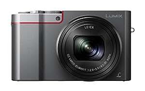 Panasonic Lumix DMC-TZ100EGS Fotocamera, Sensore 1'' 10X Zoom Post Focus, 4K Photo & 4K Video, Argento
