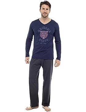 Tom Franks para hombre Arizona Bears larga pijama Set