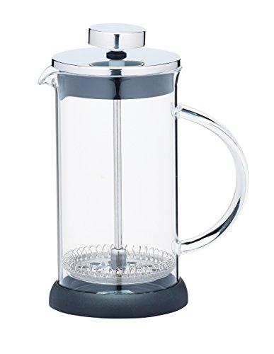 Kitchen Craft 350 ml de cristal/acero inoxidable le  Xpress 3-tazas, translúcido