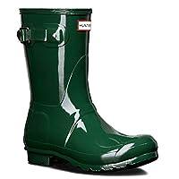 Mens Hunter Wellington Boots Original Short Rain Snow Wellies New