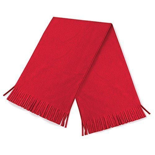 T-shirt en style SuprafleeceTM Dolomite écharpe, écharpe, écharpe d'hiver, Taille Unisex Rouge