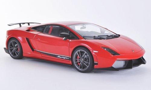 Preisvergleich Produktbild Lamborghini Gallardo LP570-4 Superleggera, rot, Modellauto, Fertigmodell, AUTOart 1:18
