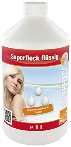 Steinbach Poolchemie Superflock flüssig, Aquacorrect, 1 l