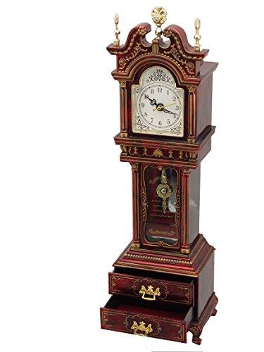 Musicbox Königreich Großvater Uhr, mit bekannten Melodie gespielt wird Dekoratives Produkt