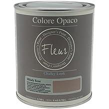 Fleur Paint 13404 - Pintura mineral (base agua, 750 ml) color milady rose