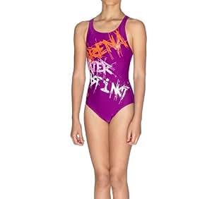 Arena spray costume da bagno ragazze violetta 6 7 anni sport e tempo libero - Ragazze belle in costume da bagno ...
