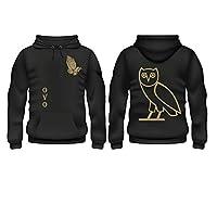 Ovo Ting designed round neck pullover hoodie premium quality L