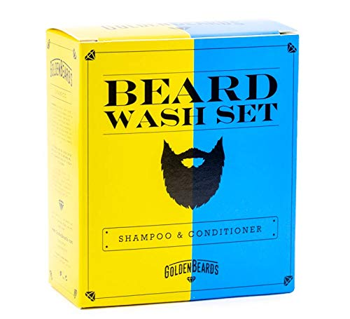 Beard Shampoo and Conditioner Set  The perfect combination for washing your  beard 100ml + 100ml of Handmade Product especially made for your beard