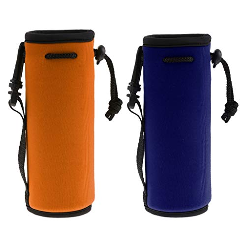 68b7f0ca9c65 CUTICATE 2Pcs Water Bottle Cover, 500ml Sports Cup Carrier Insulator Cooler  Sleeve Holder Bag, Perfect for Hiking, Cycling, Outdoor and more - Choose  ...