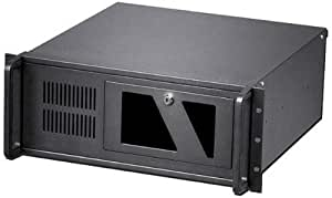 Techly Industrial 4U Rackmount Computer Chassis I-CASE MP-P4HX-BLK2 - Computer Cases (Rack, Server, SECC, ATX, Black, 4U)