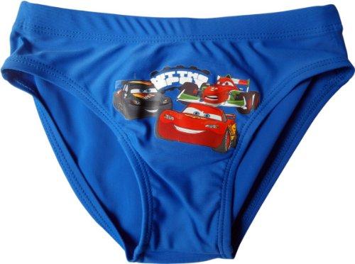Cars Disney Badehose - Mc Queen, Max Schnell und Francesco - Hit the apex - Blau/Mehrfarbig