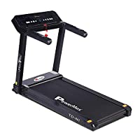 PowerMax Fitness TD-N1 1.5HP (3HP Peak) Pre-Installed Motorized Treadmill, Home Use & Automatic Programs