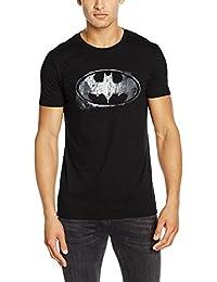 Batman Logo Mono Distressed, T-Shirts Homme