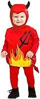 WIDMANN 1897T - Costume da Diavoletto in Taglia 1/3 Anni