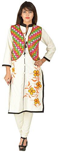 Havya Fashion Women's koti Jacket (Multi-Coloured, X-Large)  available at amazon for Rs.349