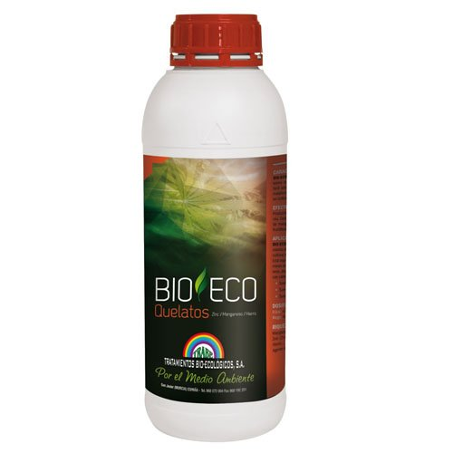 Fertilizante / Abono 100% Ecológico Trabe Bio-Eco Quelatos - ZN-MN-FE (1L)