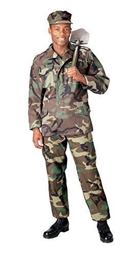 Rothco M-65 Field Jacket - Woodland Camo -