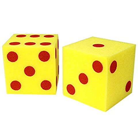Learning Resources Giant Soft Dot Cubes (Set of 2)